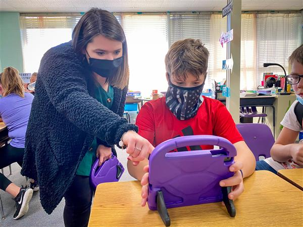 Grant helps put AR test technology into students' hands